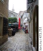 Купить «Улочки Будвы», фото № 473751, снято 15 сентября 2008 г. (c) Александр Пашкин / Фотобанк Лори