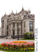 Купить «Киев. Дом с Химерами.», фото № 475035, снято 2 мая 2008 г. (c) Julia Nelson / Фотобанк Лори