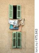Купить «Французский город Сен-Поль-де-Ванс. Окна», фото № 475843, снято 24 июля 2008 г. (c) Татьяна Лата / Фотобанк Лори