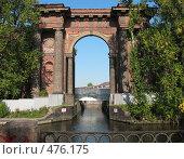 Купить «Мойка. Водные ворота в Новую Голландию», фото № 476175, снято 22 сентября 2008 г. (c) Морковкин Терентий / Фотобанк Лори