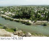 Купить «Город на берегу горной реки», фото № 476591, снято 12 июля 2008 г. (c) Ирина / Фотобанк Лори
