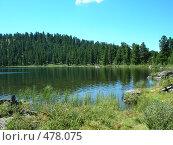 Купить «Каракольское озеро. Алтай», фото № 478075, снято 6 августа 2008 г. (c) Александр Литовченко / Фотобанк Лори