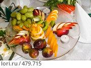 Купить «Фруктовый десерт», фото № 479715, снято 19 сентября 2008 г. (c) Федор Королевский / Фотобанк Лори