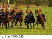 Полк летучей кавалерии (2008 год). Редакционное фото, фотограф Смирнова Лидия / Фотобанк Лори