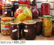 Купить «Домашние заготовки», фото № 480291, снято 24 сентября 2008 г. (c) Морковкин Терентий / Фотобанк Лори