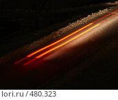 Купить «Ночные следы», фото № 480323, снято 1 ноября 2007 г. (c) Владимир Ильин / Фотобанк Лори