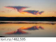 Купить «Закат», фото № 482595, снято 13 июля 2008 г. (c) Сергей Нестеров / Фотобанк Лори