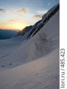 Рассвет в горах. Стоковое фото, фотограф Дмитрий Кожевников / Фотобанк Лори