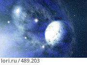Купить «Космос», иллюстрация № 489203 (c) ElenArt / Фотобанк Лори