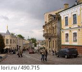 Купить «Киев. Андреевский спуск», фото № 490715, снято 30 апреля 2008 г. (c) Julia Nelson / Фотобанк Лори