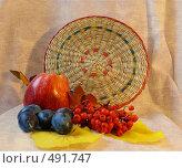 Осенний натюрморт. Стоковое фото, фотограф Марина Коваленко / Фотобанк Лори