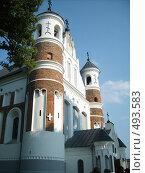 Купить «Церковь-крепость Мурованка», фото № 493583, снято 13 августа 2006 г. (c) Римма Радшун / Фотобанк Лори