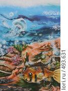Купить «Граффити на стене», иллюстрация № 493631 (c) Козырин Илья / Фотобанк Лори