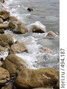 Купить «Морской берег», эксклюзивное фото № 494187, снято 29 апреля 2008 г. (c) Дмитрий Неумоин / Фотобанк Лори
