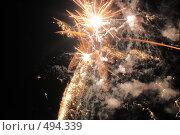 Купить «Фейерверк. Салют. Праздник.», фото № 494339, снято 4 октября 2008 г. (c) Федор Королевский / Фотобанк Лори