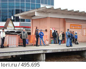 Купить «Железнодорожная станция Лианозово», фото № 495695, снято 28 мая 2007 г. (c) Александр Висляев / Фотобанк Лори