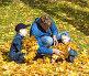 Семья на прогулке, фото № 497735, снято 5 октября 2008 г. (c) Сергей Лаврентьев / Фотобанк Лори