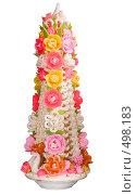 Купить «Свадебное украшение стола», фото № 498183, снято 4 октября 2008 г. (c) Федор Королевский / Фотобанк Лори
