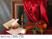 Купить «Мелодия для скрипки», фото № 500155, снято 26 октября 2005 г. (c) Татьяна Белова / Фотобанк Лори