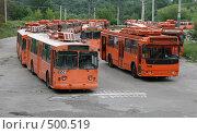 Купить «Троллейбусное депо в Нижнем Новгороде, Россия», фото № 500519, снято 15 июля 2007 г. (c) Yevgeniy Zateychuk / Фотобанк Лори