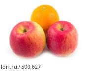 Еда с красивым апельсином. Стоковое фото, фотограф Коннов Леонид Петрович / Фотобанк Лори