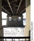 Под мостом. Стоковое фото, фотограф Соломин Андрей / Фотобанк Лори
