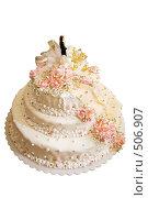 Купить «Праздничный торт», фото № 506907, снято 11 октября 2008 г. (c) Федор Королевский / Фотобанк Лори