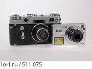 Купить «От пленки к цифре», фото № 511075, снято 14 октября 2008 г. (c) Игорь Качан / Фотобанк Лори