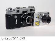 Купить «От пленки к цифре», фото № 511079, снято 14 октября 2008 г. (c) Игорь Качан / Фотобанк Лори
