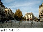 Купить «Фонтан на площади Республики в Лионе, Франция», фото № 514751, снято 26 ноября 2006 г. (c) Алексей Зарубин / Фотобанк Лори