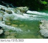 Горная река. Стоковое фото, фотограф Марина Коваленко / Фотобанк Лори