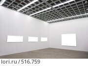 Купить «Пустые рамы на стенах», фото № 516759, снято 18 января 2020 г. (c) Losevsky Pavel / Фотобанк Лори