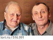 Купить «Пожилые мужчины», фото № 516991, снято 28 мая 2020 г. (c) Losevsky Pavel / Фотобанк Лори