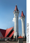 Купить «Соборная мечеть Ляля-Тюльпан в Уфе», фото № 518763, снято 19 июля 2008 г. (c) Михаил Коханчиков / Фотобанк Лори
