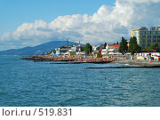 Купить «Черное море. Адлер. Сентябрь», фото № 519831, снято 24 сентября 2008 г. (c) Валерий Александрович / Фотобанк Лори