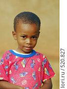 Купить «Африканский мальчик», фото № 520827, снято 24 февраля 2008 г. (c) Марина Коробанова / Фотобанк Лори