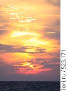Купить «Закат», эксклюзивное фото № 523171, снято 11 сентября 2008 г. (c) Дмитрий Неумоин / Фотобанк Лори