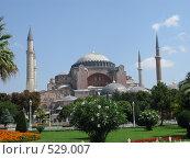 Собор Святой Софии. Айя-София. Стамбул. Турция (2008 год). Стоковое фото, фотограф Николаенкова Светлана / Фотобанк Лори