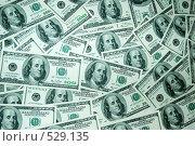 Долларовый фон. Стоковое фото, фотограф Марина Кириленко / Фотобанк Лори