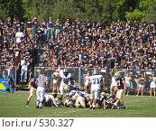 Купить «Американский футбол», фото № 530327, снято 14 октября 2006 г. (c) Yevgeniy Zateychuk / Фотобанк Лори