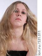 Купить «Портрет красивой девушки», фото № 531011, снято 17 мая 2008 г. (c) Варвара Воронова / Фотобанк Лори