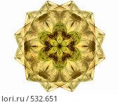 Желтый цветок. Стоковая иллюстрация, иллюстратор Parmenov Pavel / Фотобанк Лори