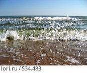 Азовское море. Стоковое фото, фотограф Дмитрий Горбик / Фотобанк Лори