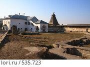 Купить «Псков. На территории кремля», фото № 535723, снято 5 апреля 2008 г. (c) АЛЕКСАНДР МИХЕИЧЕВ / Фотобанк Лори