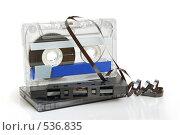 Купить «Аудио кассеты», фото № 536835, снято 14 августа 2008 г. (c) Наталия Евмененко / Фотобанк Лори