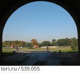 Купить «Ворота Петропавловской крепости», фото № 539055, снято 22 сентября 2008 г. (c) Морковкин Терентий / Фотобанк Лори