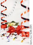 Купить «Новогодние украшения», фото № 539391, снято 29 октября 2008 г. (c) Логинова Елена / Фотобанк Лори