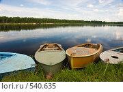 Купить «Красивая северная река Мезень», фото № 540635, снято 5 июля 2008 г. (c) Шахов Андрей / Фотобанк Лори