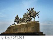 Купить «Самара. Памятник Чапаеву», фото № 541051, снято 1 ноября 2008 г. (c) Николай Федорин / Фотобанк Лори