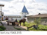 Двор Никитского монастыря (2008 год). Редакционное фото, фотограф Ярослава Синицына / Фотобанк Лори